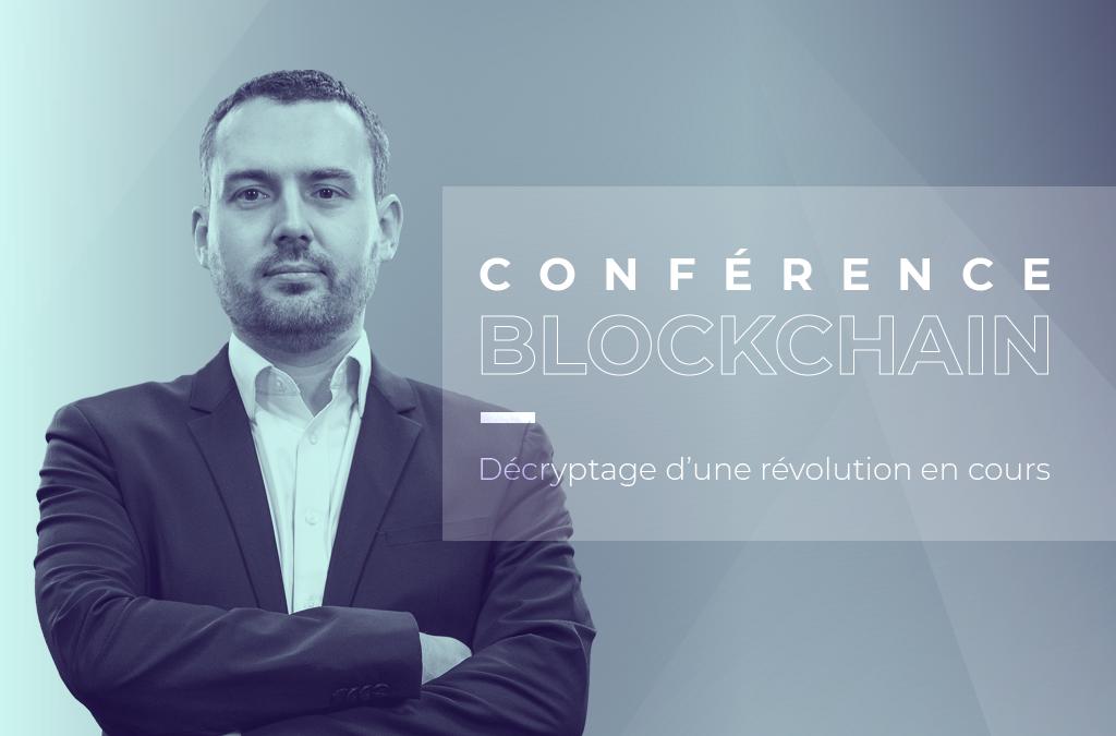 Conférence Blockchain à Turing 22, Clermont-Ferrand